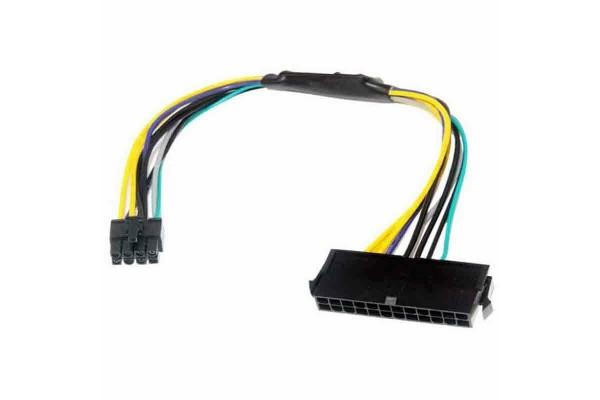 Преходник за захранване от 24 към 6 pin / пин за дънни платки HP - кабели и преходници - 14407 - nextbg.com