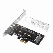 Преходник M2 SSD NVME към PCI-E 3.0 x1