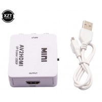 АКТИВЕН Преходник AV,RCA(чинчове) към HDMI