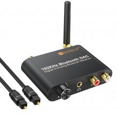 Bluetooth цифров към аналогов аудио конвертор (DAC) 192Khz
