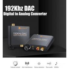 Висококачествен цифрово - аналогов аудио DAC Neoteck с оптичен вход