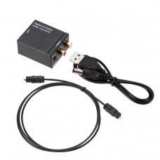 Цифрово - аналогов аудио DAC с оптичен вход
