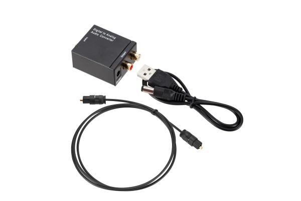 Цифрово - аналогов аудио DAC с оптичен вход - кабели и преходници - 14602 - nextbg.com