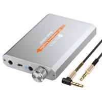 Качествен HiFi усилвател за слушалки Neoteck с литиевойонна батерия
