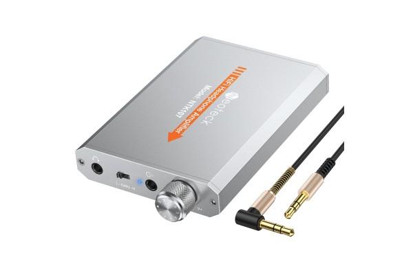 Качествен HiFi усилвател за слушалки Neoteck с литиевойонна батерия - кабели и преходници - 14606 - nextbg.com