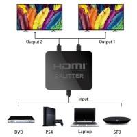 4K HDMI активен сплитер, разклонител, Splitter 1 входa и 2 изхода