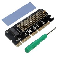 Преходник M.2 (M2) NVMe SSD към PCIE 3.0 X16