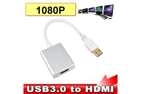 Преходник USB 3.0 към HDMI - кабели и преходници - 14112 - nextbg.com