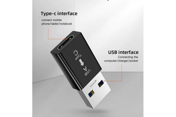 Преходник USB 3.0 към USB Type-c - кабели и преходници - 14119 - nextbg.com