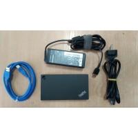 ThinkPad USB 3.0 Ultra Dock 40A8 със зарядно