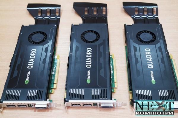 Видео картa NVIDIA Quadro K4000, 3GB, GDDR5 -  -  - nextbg.com