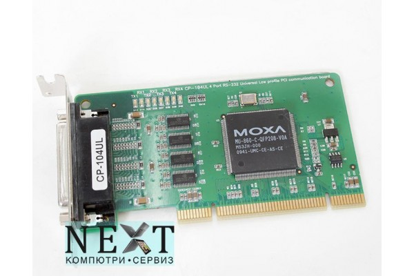 Moxa CP-104UL А клас - PCI контролери за компютри - 280056073 - nextbg.com