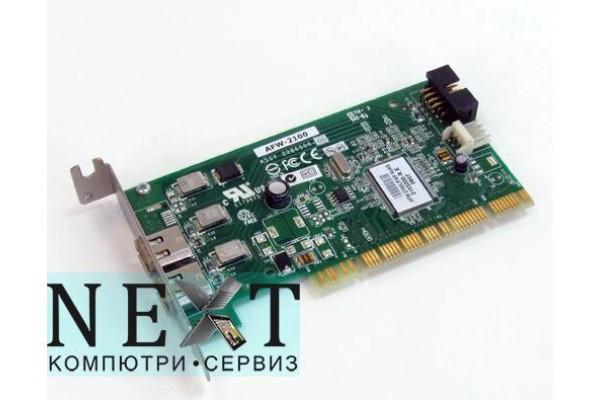 Различни марки 2x Firewire А клас - PCI контролери за компютри - 290006252 - nextbg.com