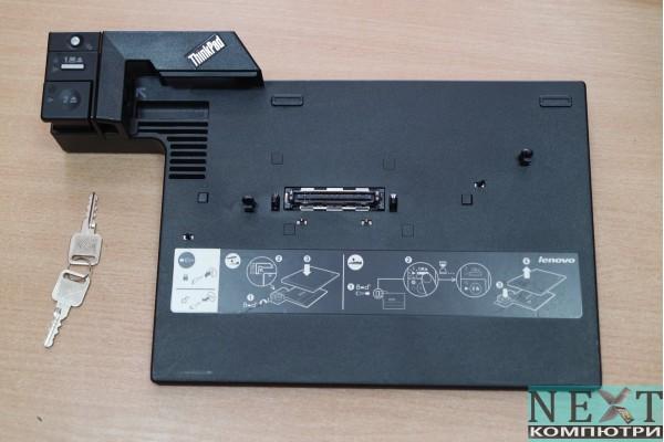Advanced Mini-Dock Station 2504 за Lenovo T60, T61, T400, T500, W500 и ключове за заключване