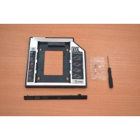 DVD/CD адаптер за 2ри хард диск/SSD за лаптоп 9,5мм