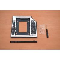 DVD/CD адаптер за 2ри хард диск/SSD за лаптоп 9.5мм