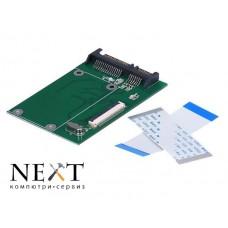 """Адаптер 1.8"""" 40 пинов ZIF/CE SSD/HDD"""