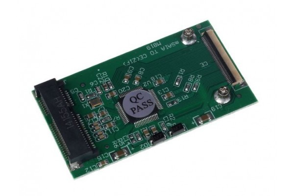 Адаптер mSATA SSD към 40 пинов ZIF/CE - кабели и преходници - 14205 - nextbg.com