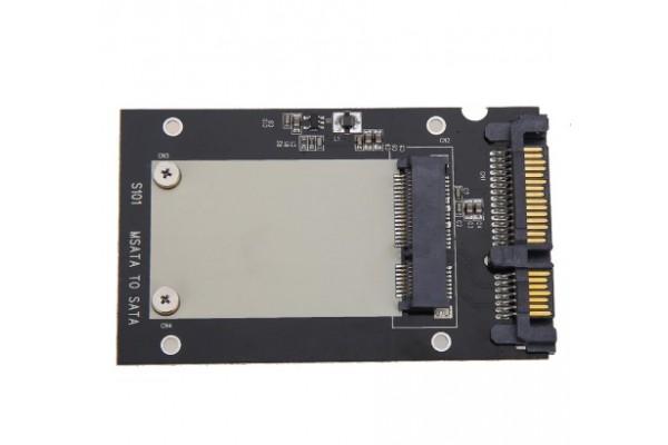 "mSATA SSD към 2.5"" SATA - кабели и преходници - 14204 - nextbg.com"