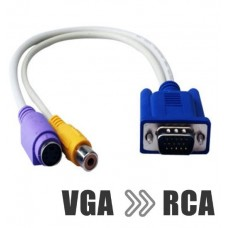 VGA към S-Video и RCA чинч